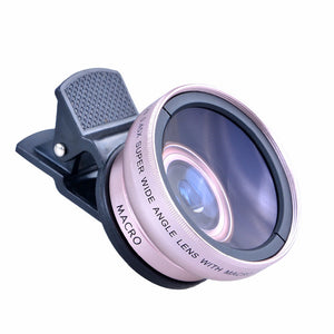 New HD 37MM 0.45x Super Wide Angle Lens with 12.5x Super Macro Lens for iPhone 6 Plus 5S 4S Samsung S6 S5 Note 4 Camera lens Kit - Shop at GlamoRight.Com