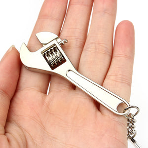 Wrench keychain Stainless Steel - Shop at GlamoRight.Com