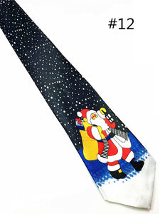 Christmas Tie 9.5cm Style Men's Fashion Neckties - Shop at GlamoRight.Com
