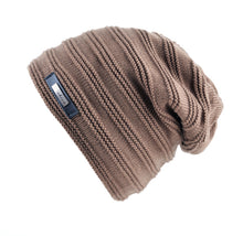 UNISEX Winter beanie Stripe knitted hat - Shop at GlamoRight.Com