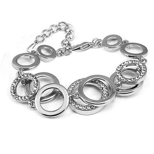 Luxury Circle Chain Link Bracelet