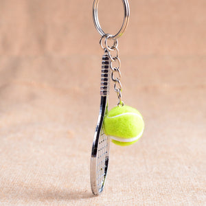 Tennis Racket Keychain - Shop at GlamoRight.Com