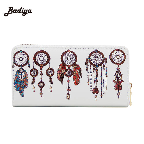 Print Women Clutch Purse Wallet PU