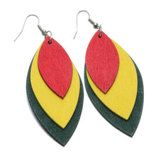 Vintage Wooden Earring - Shop at GlamoRight.Com