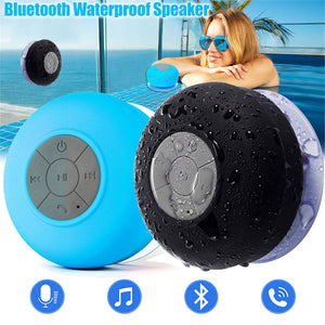 Portable Subwoofer Waterproof Shower Speaker Wireless