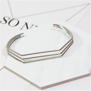Metal rings contracted wind bracelet - Shop at GlamoRight.Com