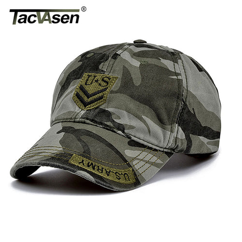 Tactical Baseball Army Men's Cap With Adjustable Head