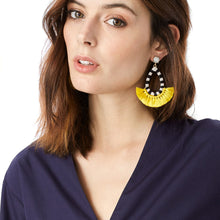 Cotton Tassel Earrings - Shop at GlamoRight.Com