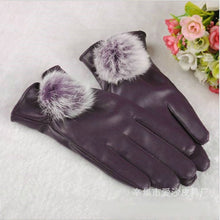 Soft PU Leather  Warm Wrist Gloves - Shop at GlamoRight.Com