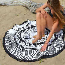 Quick Dry Floral Beach Cover-Up Beach Mat Towel - Shop at GlamoRight.Com