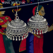 Ethnic Earrings  Tibetan Silver Statement Metal Irregular Tassel Drop Earrings - Shop at GlamoRight.Com