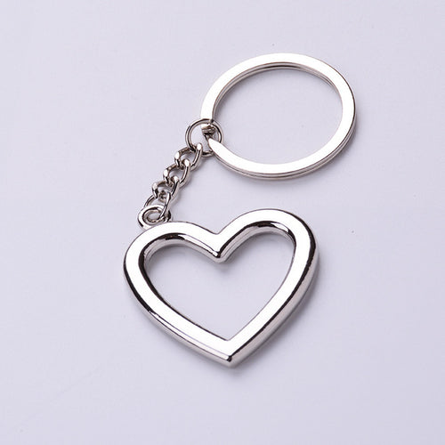 Heart Shaped Zinc Alloy Keyring - Shop at GlamoRight.Com