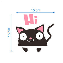 Cute black sleeping cat switch stickers - Shop at GlamoRight.Com