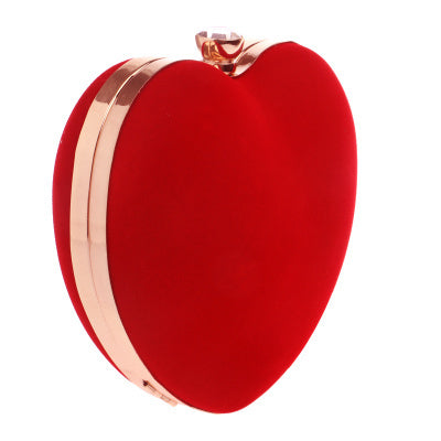 Heart Shaped Diamonds Women Evening Bags - Shop at GlamoRight.Com