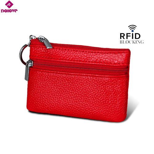 Designer Fashion Split Leather Women Wallets Mini Purse