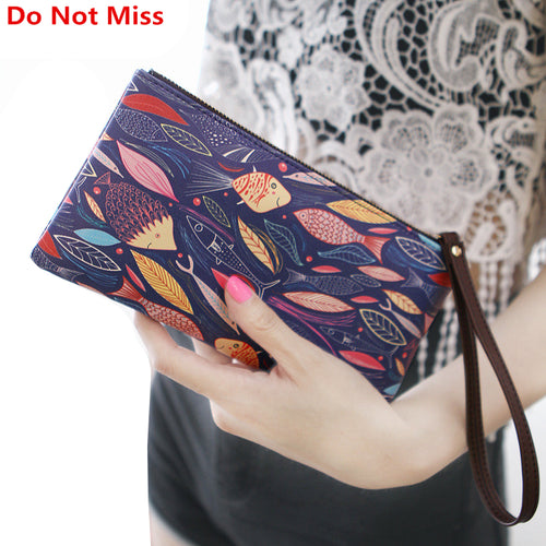 Wristlet Wallet Designers Long Organiser Purse