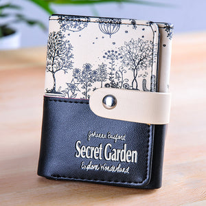 Secret Garden Short Multifunction Wallet