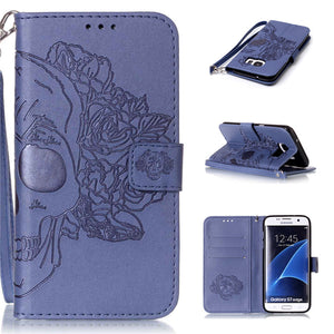 Filp leather Case for Samsung Galaxy S7