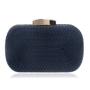 Knitted Style Vintage Metal Day Clutches / Evening Bags - Shop at GlamoRight.Com