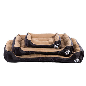Pet Dog Bed Warming Dog House Soft Material Pet Nest Dog Fall and Winter Warm Nest Kennel For Cat Puppy Plus size - Shop at GlamoRight.Com