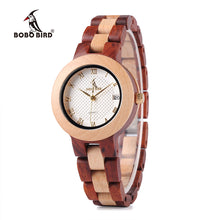Two-tone Wooden Watch for Women - Shop at GlamoRight.Com