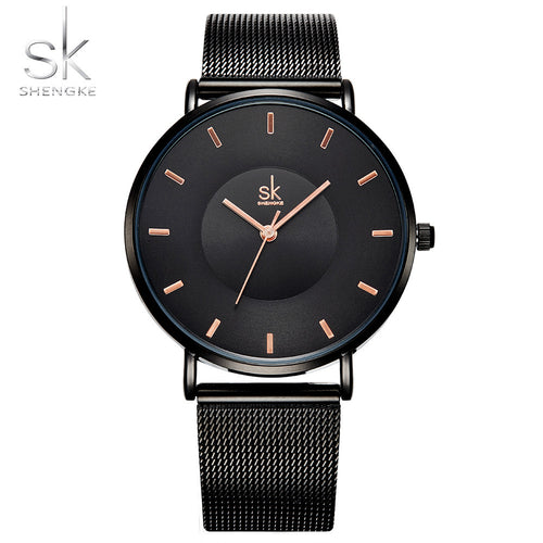 Fashion Black Elegant Dress High Quality Ultra thin Quartz Watch - Shop at GlamoRight.Com