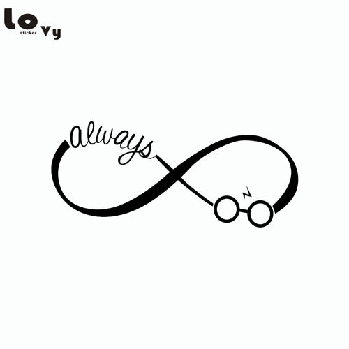 Classic Movie Harry Potter ALWAYS Vinyl Wall Sticker - Shop at GlamoRight.Com