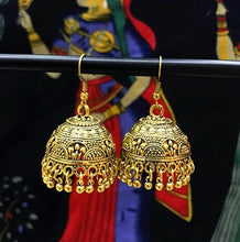 Ethnic Vintage Earing  Tassel 100% Handmade Gold Color Drop Earrings - Shop at GlamoRight.Com