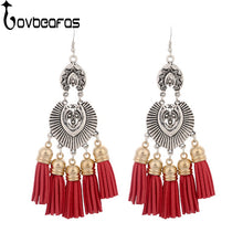 Ethnic Bohemian Drop Long Earrings For Women - Shop at GlamoRight.Com