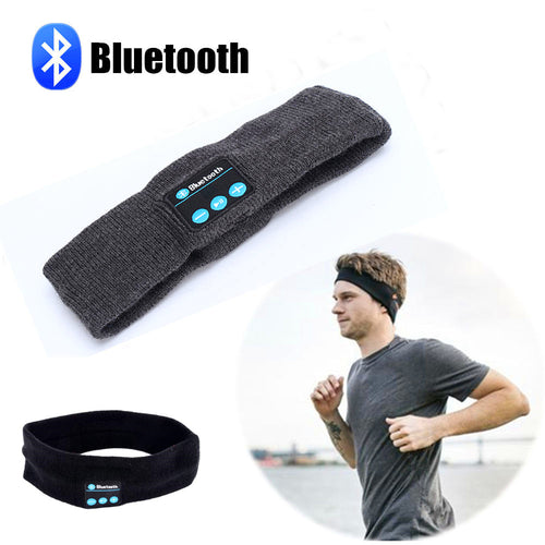 Sleep Headband Hat Soft Warm Sports Smart Cap Smart Speaker Stereo Headset with Microphone