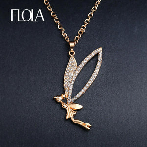 Flying Fairy Necklace - Shop at GlamoRight.Com