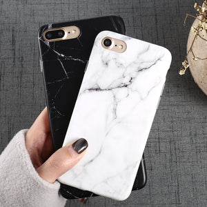 Luxury Marble Pattern i 8 Phone Case For iPhone 8  7 Plus 6 6S 5 S SE