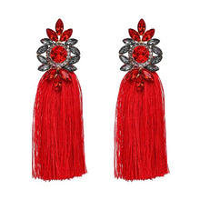 Tassel Statement Fringe Earrings Multicolored - Shop at GlamoRight.Com