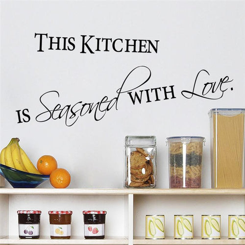 Kitchen quotes wall stickers - Shop at GlamoRight.Com