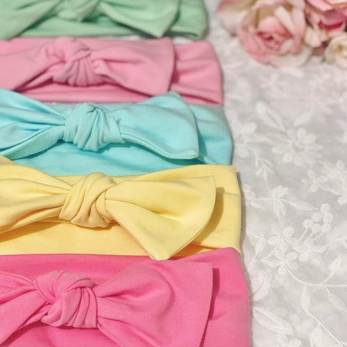 Top Knot Headbands - Spring Collection