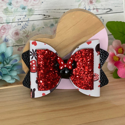 Chloe Big Bow - Minnie in Red