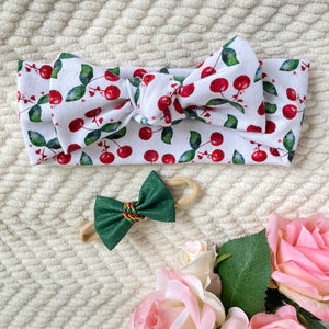 Top Knot Headbands - Christmas Collection