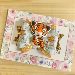 Maria Small Bow - Tiger