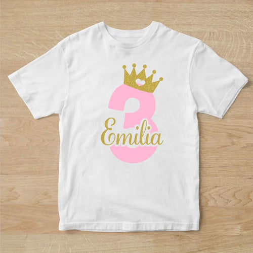 3rd Birthday Tee - Crown