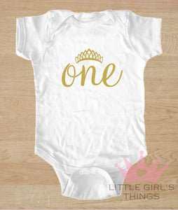 1st Birthday Onesie -  Birthday One
