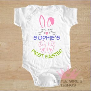 Easter Onesie - My First Personalized Bunny