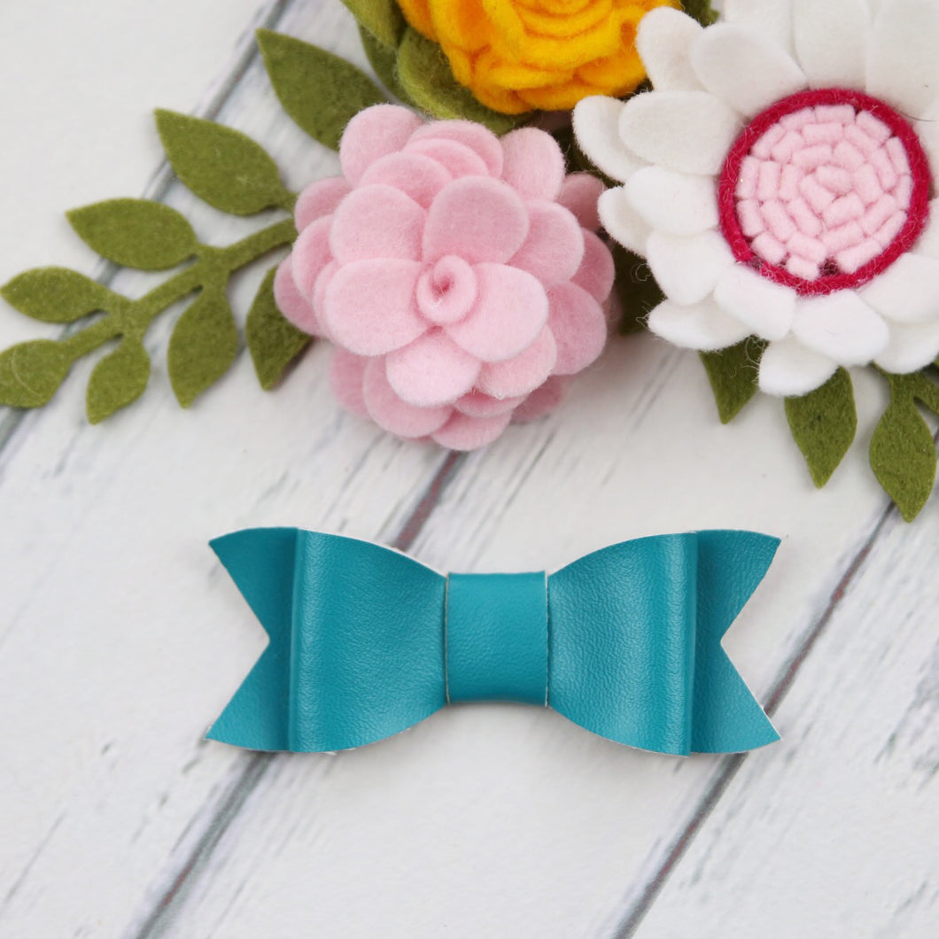 Taylor Bow - Teal