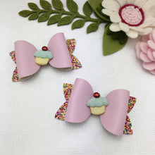 Emily Bow - Patty Cake Pink Piggy Tail Clips