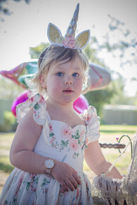 1st Birthday Unicorn Headband