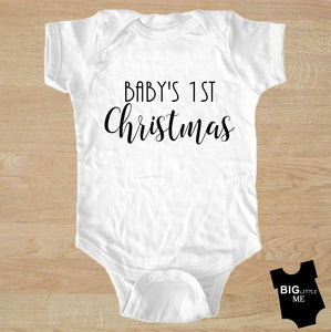 Christmas Onesie - Baby's First Christmas