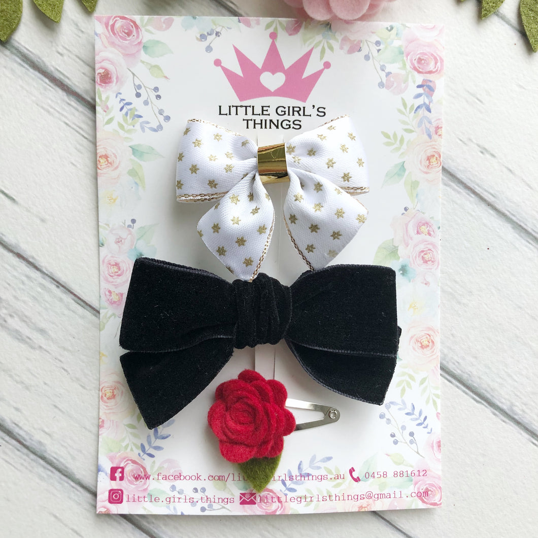 Christmas Bow Set - Luxe Collection