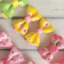 Sarah Bow - Piggy Tail Clips (8 Colours)