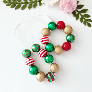 Christmas Bubblegum Jewellery - Candy Cane