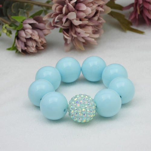 Bubblegum Bracelet - Beautiful Blue