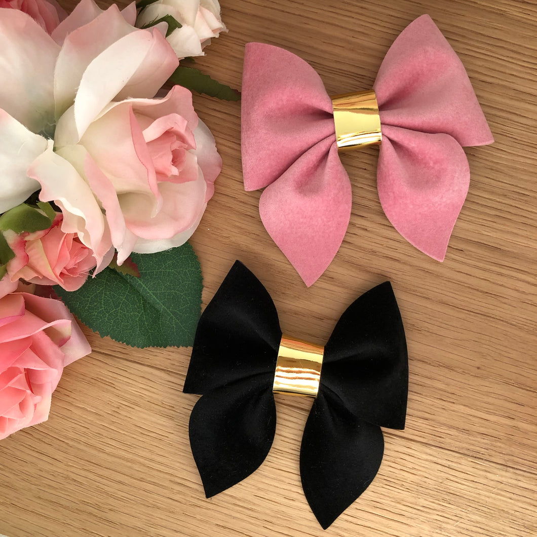 Velvet Sailor Bows